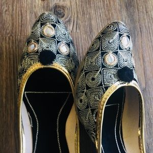 Shoes - New 2018 ! Mirror Squares Jutti